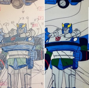 Newly Discovered Concept Art from the Generation 1 Transformers Cartoon: Ravage, Blue Bluestreak, Mirage