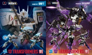 Transformers News: More photos of Flame Toys Furai Transformers Drift and Skywarp in Bluefin Press Release
