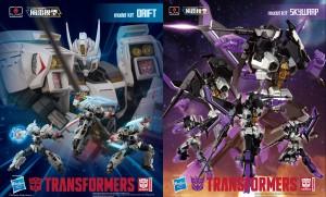 More photos of Flame Toys Furai Transformers Drift and Skywarp in Bluefin Press Release