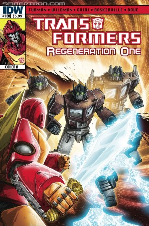 Transformers News: Andrew Wildman Returns on ReGeneration One #100