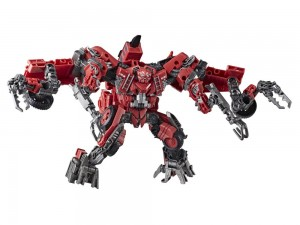 Transformers News: Video Reviews for Transformers Studio Series Overload, Scrapper and Sentinel Prime
