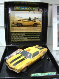 Transformers News: Scalextric Transformers Bumblebee Limited Edition Slot Car
