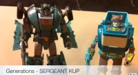 Video Review Of Transformers Generations Sergeant Kup