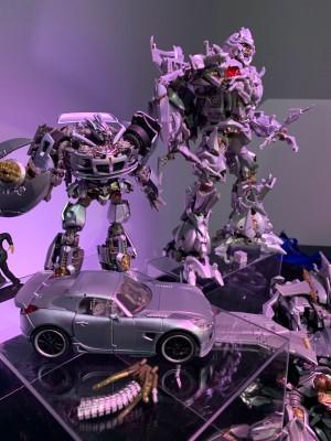 Transformers Masterpiece MPM-08 Megatron and MPM-09 Jazz Revealed
