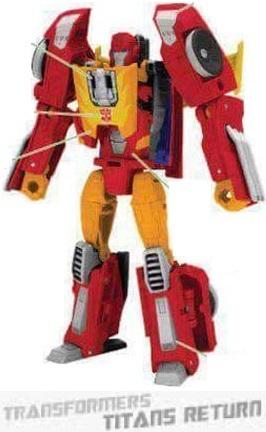 Transformers Titans Return - Leaked HotRod Design Specs And Character Art