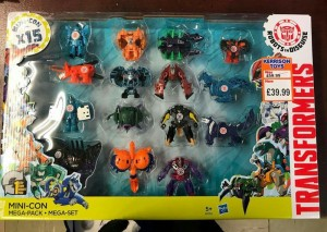 Transformers News: Robots in Disguise Mini-Con 15 Pack Found in the UK