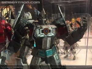Transformers News: SDCC 2017: New photos of Hasbro 3A G1 Optimus Prime, Ultra Magnus, Nemesis Prime, DOTM Optimus Prime