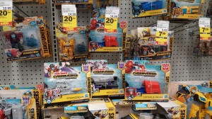 Transformers Cyberverse one-step changers Wave 2 found at retail and 20% off Transformers at Meijers