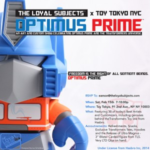 Transformers News: The Loyal Subjects Party in NYC