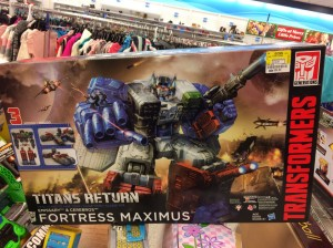 Transformers News: Titans Return Fortress Maximus Found at Ross for $54.99
