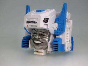 More Images of Transformers Downtown Limited Edition Cerebros / Fortress Titan Masters