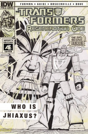 IDW Transformers: ReGeneration One #96 Review