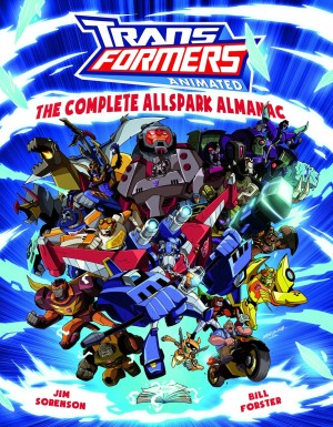 Transformers News: The Complete Allspark Almanac Cover Art Revealed