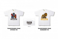 Transformers News: BAPE Teams Up With Transformers Prime to Produce Exclusive T-Shirt Collection