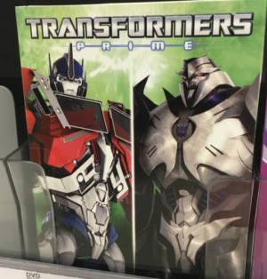 Transformers: Prime Ultimate rivals on DVD sighted in New York!