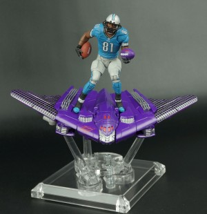 Transformers News: New Galleries: Transformers Nike CJ81 Megatron and Playmakers Calvin Johnson