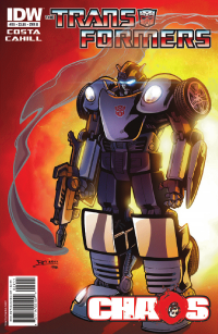 Transformers Ongoing #29 Preview