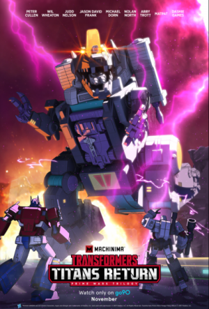 Machinima Transformers Combiner Wars Series Featured in The Last Knight Target Exclusive DVD, Titans