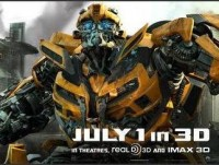 Transformers News: Yahoo! Movies Reveals New DOTM Bumblebee Banner