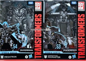 Studio Series Megatron and Mixmaster In Package Images and Possible Arcee Chromia and Elita-1 Combo