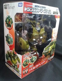 Takara Transformers Prime AM-10 Bulkhead, AM-11 Arcee, EZ-10 Star Hammer with Wheeljack, EZ-11 Ironhide, & EZ-12 Dreadwing In-Pacakge Images