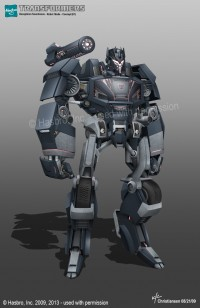 Transformers News: Aligned Continuity Soundwave Concept Art from Ken Christiansen