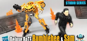 New Video Review of Transformers Studio Series Revenge of the Fallen Deluxe Class Bumblebee