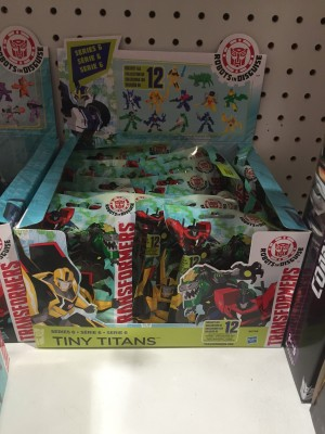 Transformers Tiny Titans Wave 6 Spotted at US Retail