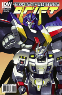 Transformers News: Transformers: Drift #3 - Five Page Preview