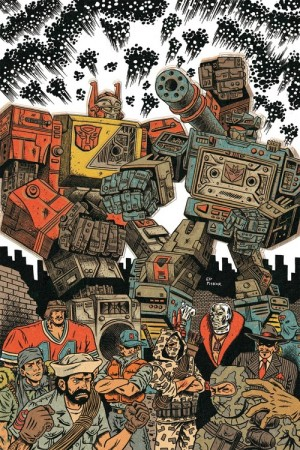 Transformers News: IDW Publishing Panel at WonderCon - Summary: Dawn of the Autobots, Primacy, Fall of G.I. Joe