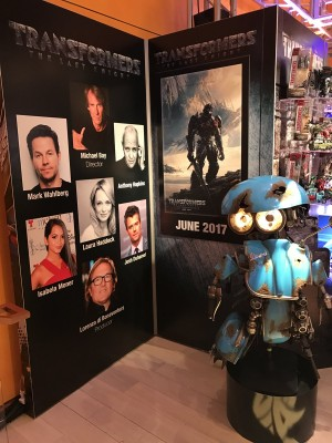 Transformers News: Toy Fair 2017 Sneak Peek at Hasbro Transformers: The Last Knight Showroom #TFNY #HasbroToyFair
