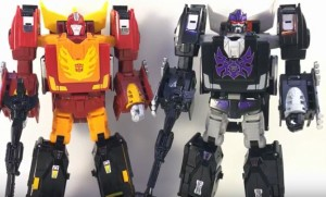 Transformers News: Video Review for Transformers Power of the Primes Rodimus Unicronus