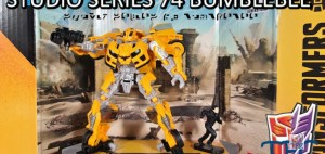 New Video Review of Transformers Studio Series SS 74 Revenge of the Fallen Deluxe Class Bumblebee