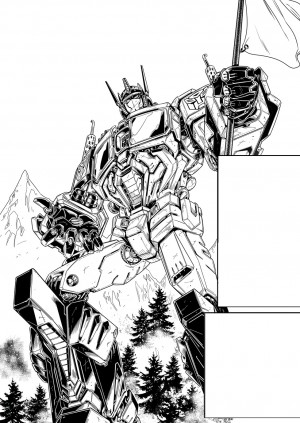 IDW Revolution - Fico Ossio Art Teasers featuring Transformers, Action Man, Micronauts