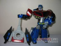 Transformers News: Toy Images of Takara Version Transformers Animated Optimus Prime