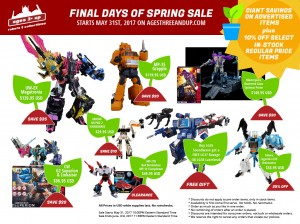 Ages Three and Up Product Updates - Final Days of Spring Sale