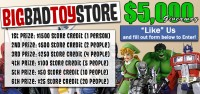 Transformers News: BBTS Sponsor News: Bruticus, Marvel Legends, $5k Giveaway, Batman, Avengers & More!