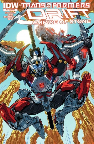 Transformers News: IDW Transformers Drift: Empire of Stone #2 Review
