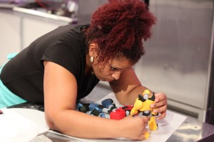 Food Network's Cake Wars Episode featuring Transformers