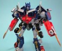 Transformers News: New Image of Transformers Autobot Alliance Battle Blade Optimus Prime