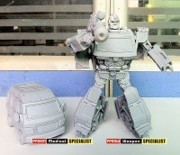 """Prototype Images Of iGear PP05 """"Not Ironhide"""""""