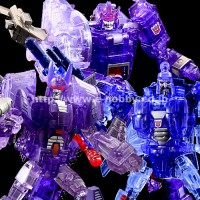 Transformers News: Transformers United e-Hobby Autobot and Decepticon 3-Pack Colors Revealed!