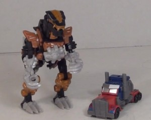 Transformers News: Video Review - Transformers: Age of Extinction Walmart Exclusive Grimlock and Optimus Prime Set