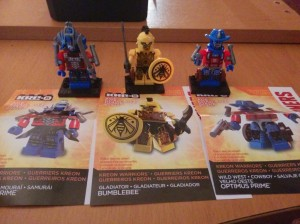 Kre-O Transformers Warrior Packs at Canadian Retail
