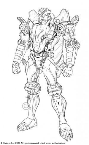 Transformers Generations Rattrap Concept Art from Emiliano Santalucia