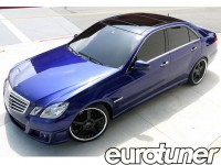 Transforming a Mercedes-Benz E550