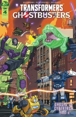 Transformers Ghostbusters Ghosts of Cybertron Issue 4 iTunes Preview