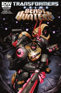 Transformers News: Transformers: Prime Beast Hunters #3 Preview