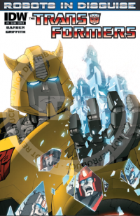 Transformers News: Seibertron.com Reviews IDW Transformers: Robots In Disguise issue #9