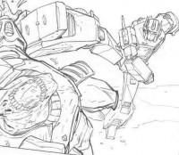 Transformers News: Original Andrew Wildman Transformers Regeneration One Art For Sale